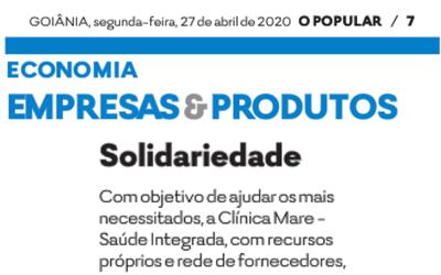 Solidariedade: Clínica Mare doa 1,2 toneladas de alimentos